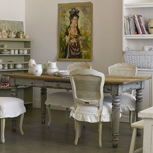 Shabby chic apartment ideas i heart shabby chic for Ameublement shabby chic