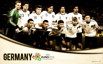 Germany Squad On Euro 2012 Wallpaper