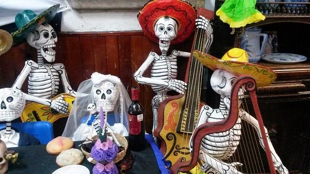 la fiesta de Halloweense
