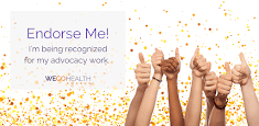 Endorse my WEGO Health Award Nomination!