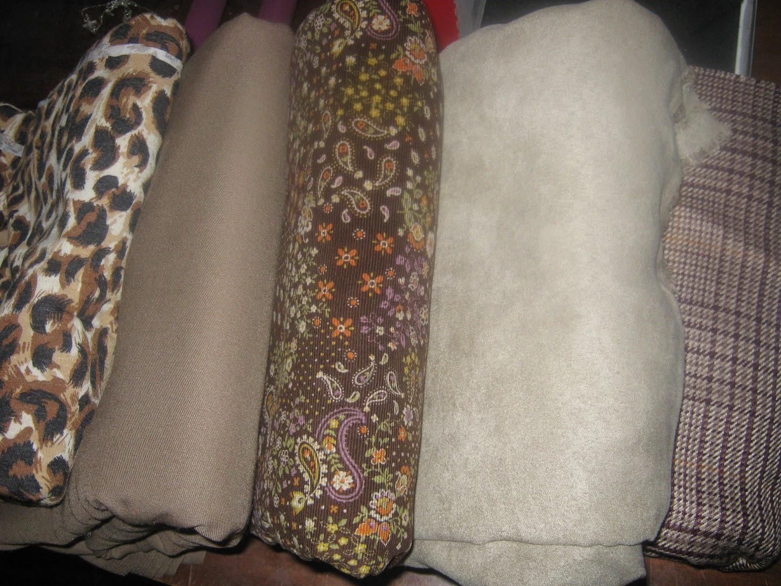 Fall wardrobe fabrics www.sewplus.blogspot.com