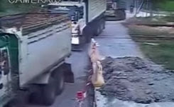 Live track Accident