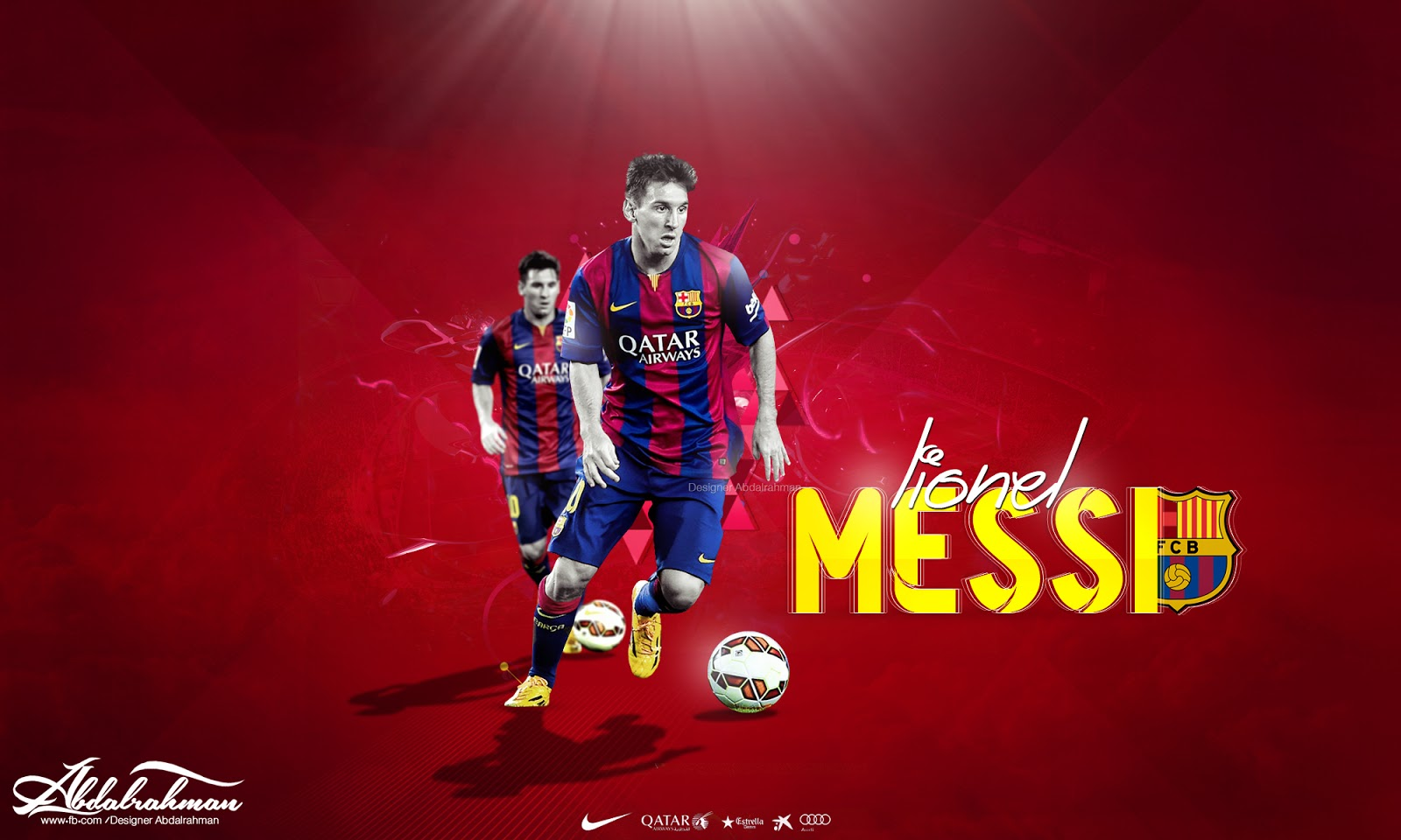Football Wallpapers HD: Lionel Messi 2015 Wallpapers HD