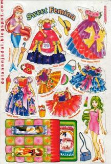 Mainan semi tradisional khas anak perempuan - permainan tadisional