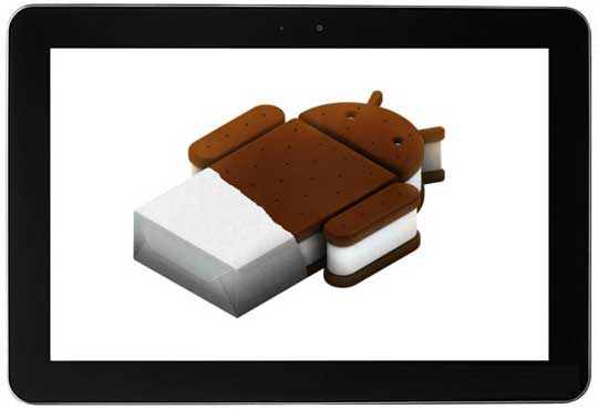 Android Ice Cream Sandwich for Samsung Galaxy Tab