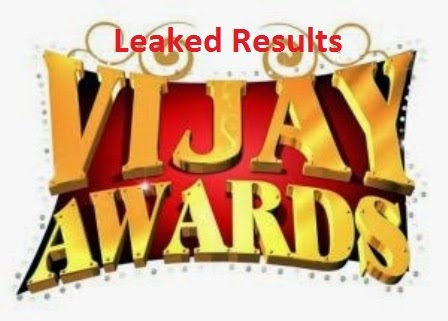 Leaked 9th Annual Vijay Awards 2015 Result Winners List Vijay Tv Online