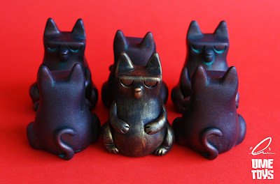 Fletcher the Fat Cat Resin Figures by UME Toys