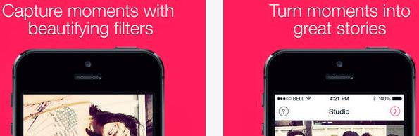 VideofyMe app for video blogging