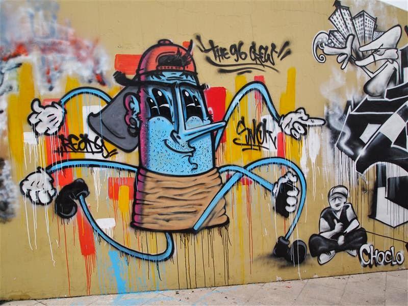 Graffiti en Guayaquil