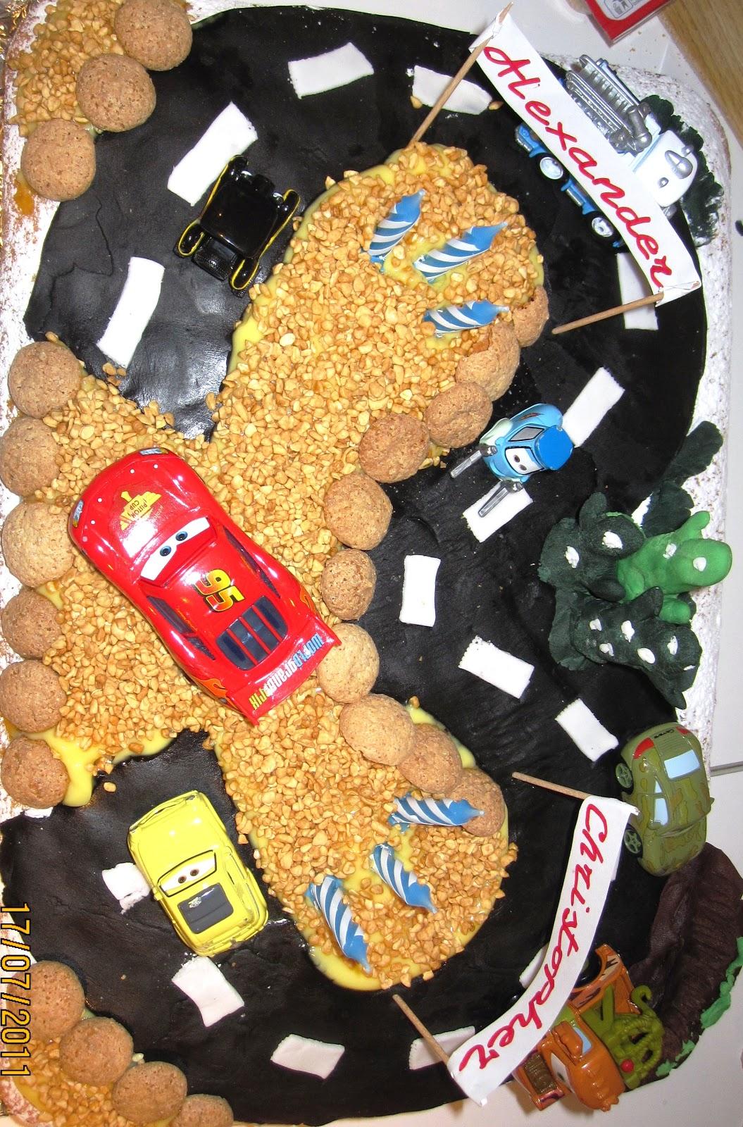 Favori Mamma  uno poco poco: Torta di compleanno Cars per i 3 anni dei  BA89