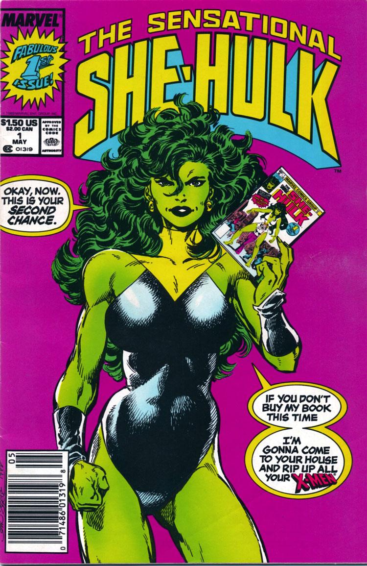 She Hulk Transformation 3d She-hulk #1 (1989),