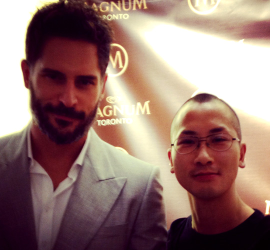 Terry Wong and Joe Manganiello!