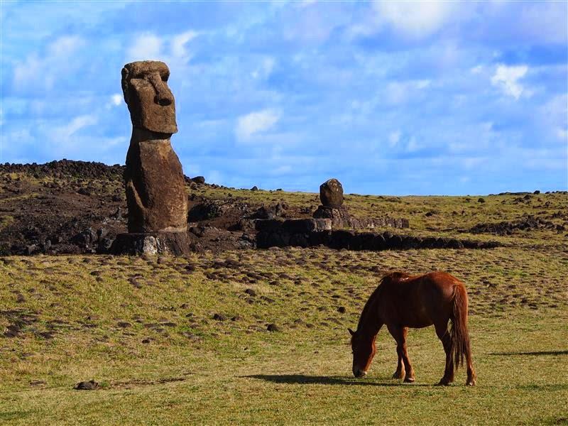 Moai de Isla de Pascua