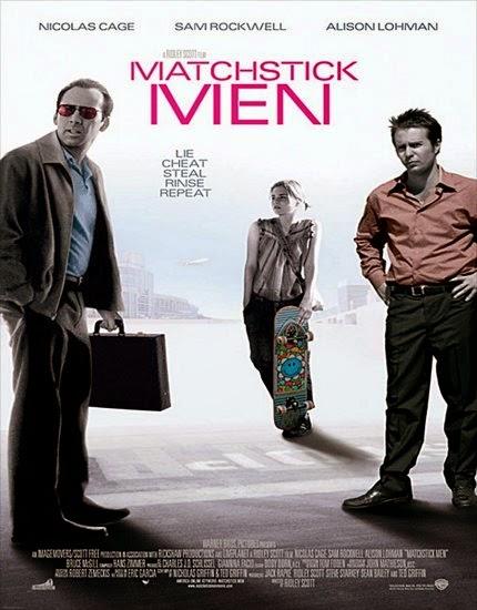 Üçkağıtçılar: Matchstick Men (2003) afiş