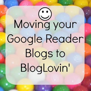 Switching to BlogLovin'