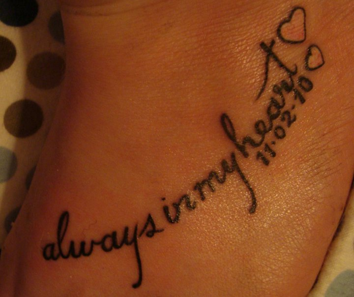 quotes about death of a loved one tattoo quotes