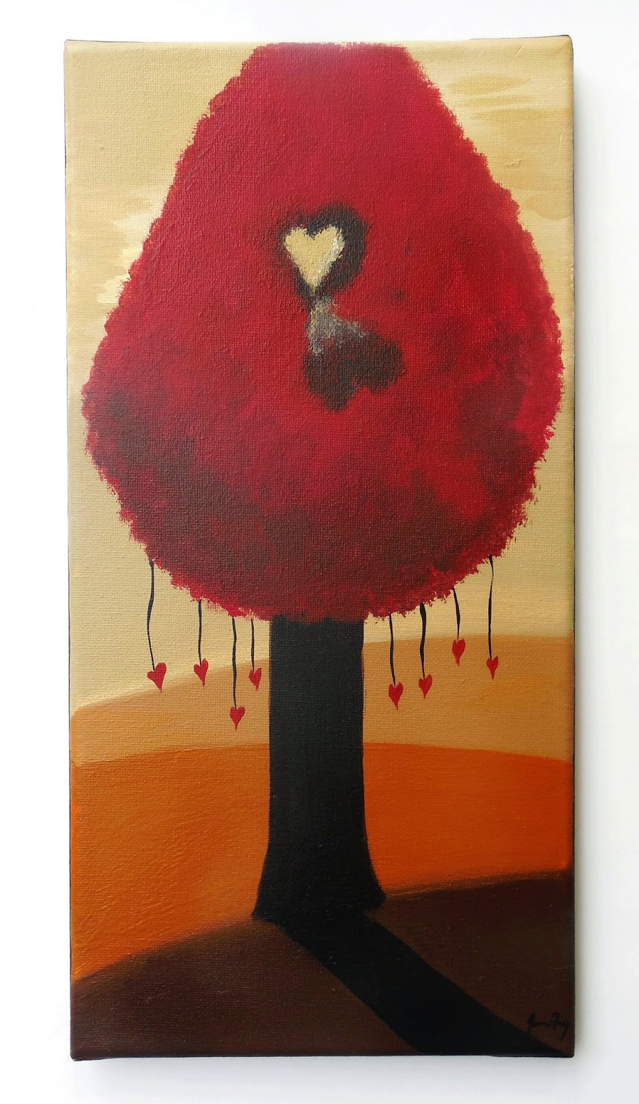 Jeanne Fry Art Love Pushes Through The Shadows Symbolism Of The
