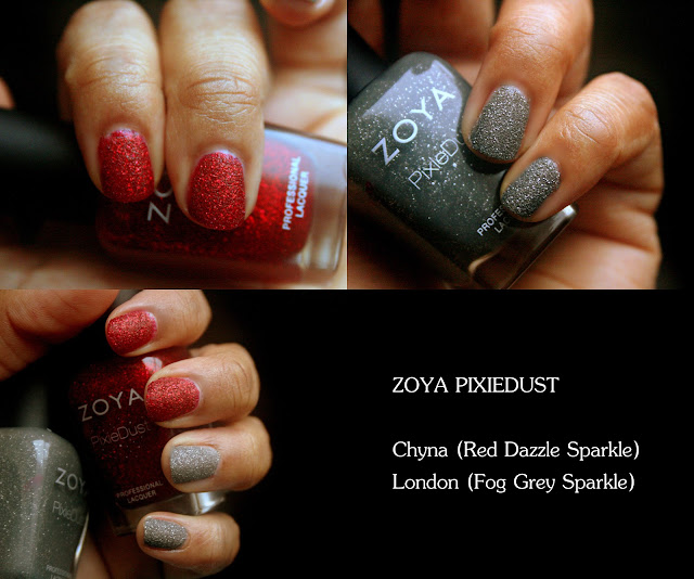 ZOYA PixieDust Chyna, London Swatches