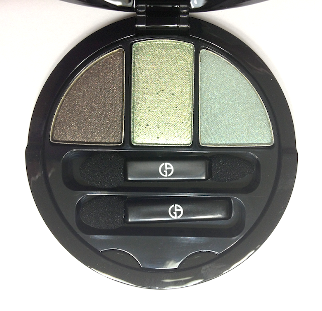 Giorgio Armani Kaleidoscope Collection Fall 2013 Scarabeo Face and Eye Palette #2 Venomous Green