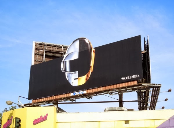Daft Punk Random Access Memories teaser billboard