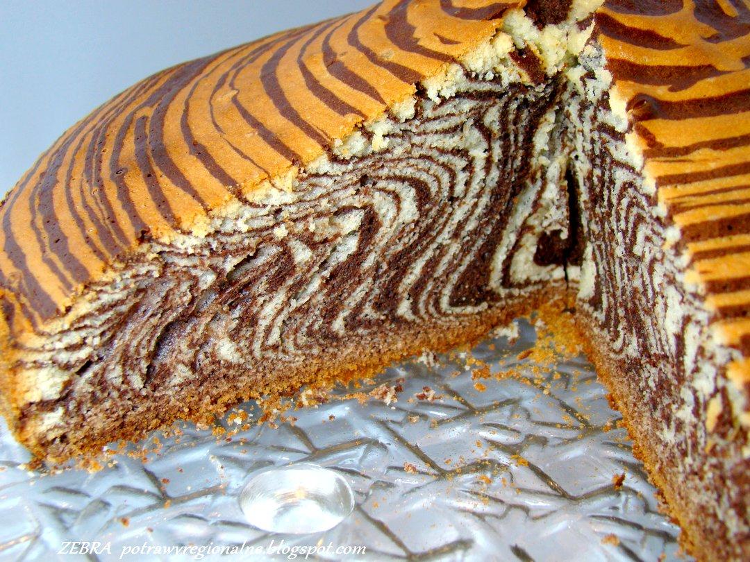 Potrawyregionalne Zebra Ciasto