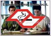 O fumante ativo fica bravo quando alguem lhe faz uma represália
