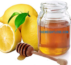 honey and lemon juice for lose fat