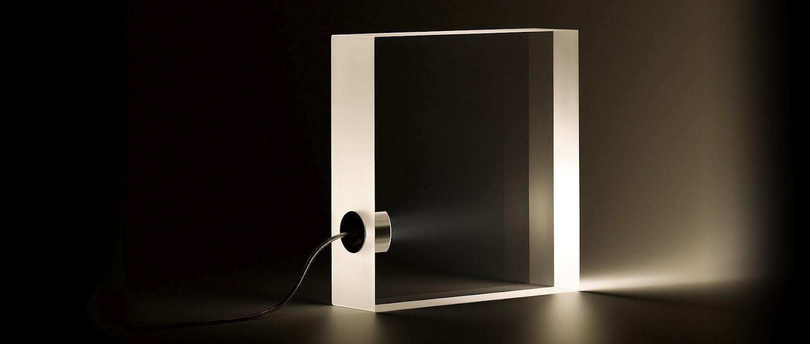 Tokujin Yoshioka Tofu Lamp Modern Design By Moderndesign Org