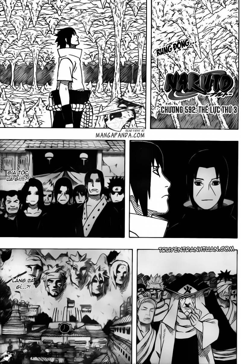 Naruto - Chapter 592 - Pic 1