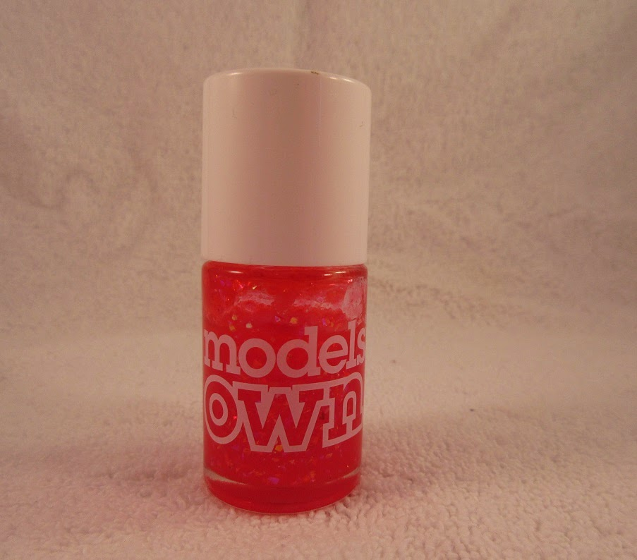 Models Own Red Sea Nail Polish Review+Swatches - Neon Chipmunk