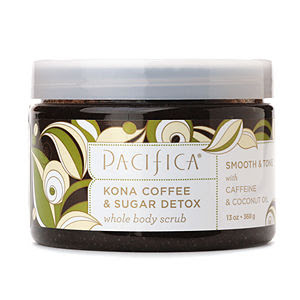 Pacifica, Pacifica body scrub, Pacifica scrub, Pacifica Kona Coffee & Sugar Detox Whole Body Scrub, scrub, body scrub