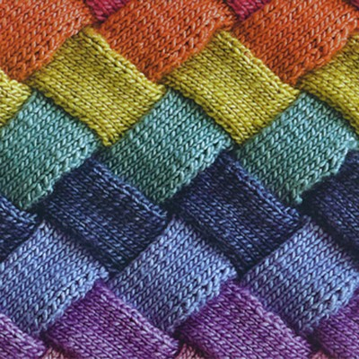 Selvage Blog: Entrelac Knitting!