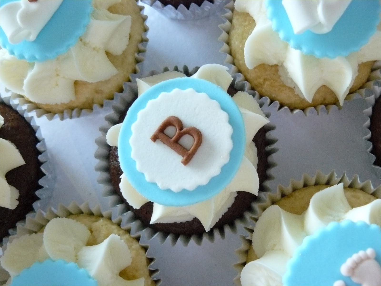 Baby Boy Baby Shower Cupcakes