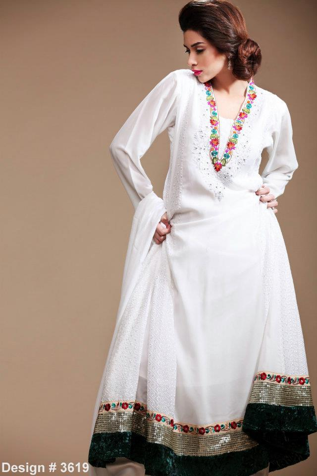 Pakistani Traditional Casual Dresses For Girls Fashion