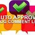 Blogwalking daftar blog auto approve