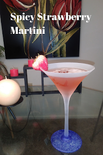 Spicy Strawberry Martini