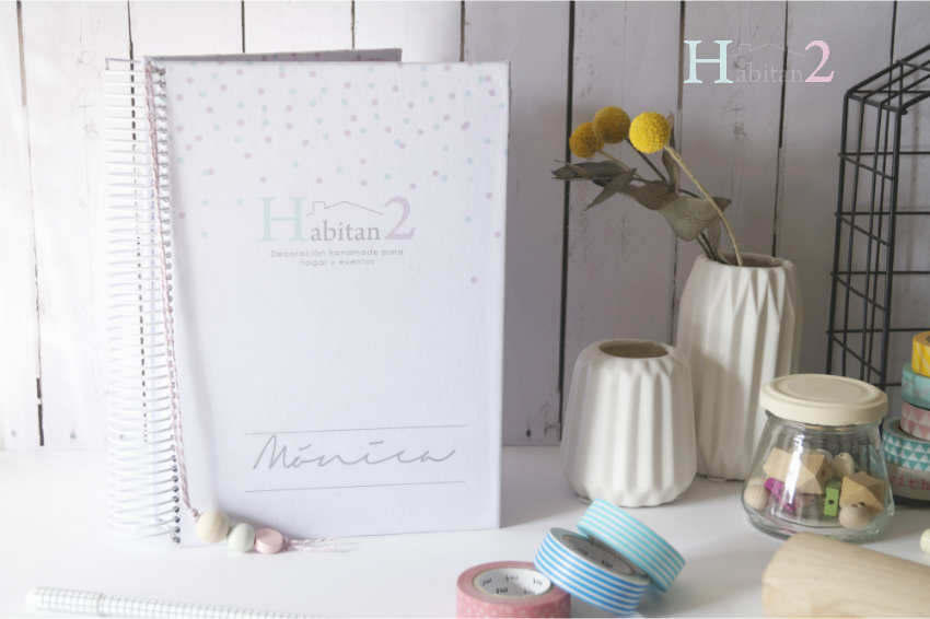 Agenda anual personalizada diseño de Habitan2