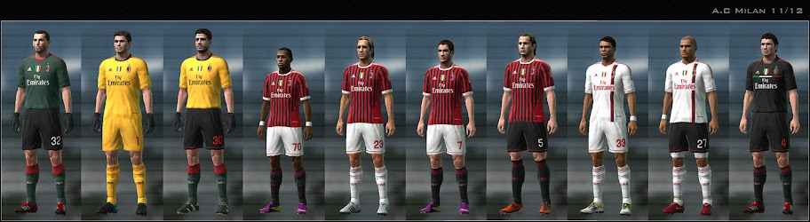 Milan 11/12 Kit Set by Dark Nero