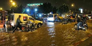 Déluge à Marrakech 17 septembre 2013 crédits photos © MAP