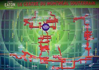 harta oras subteran montreal