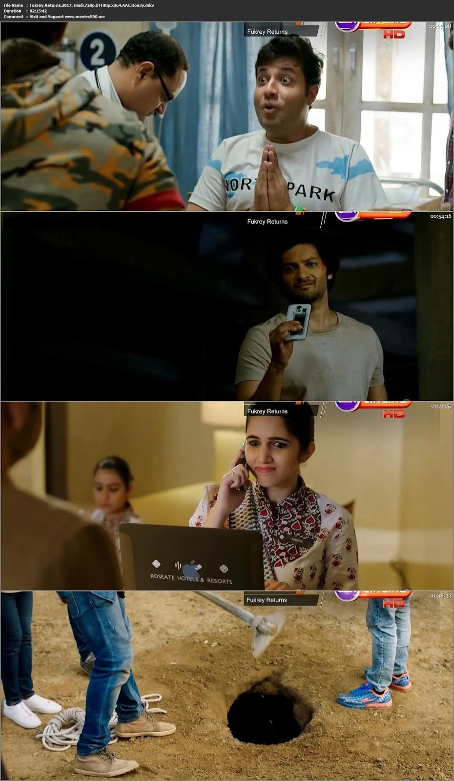 Fukrey Returns 2017 Hindi Full Movie DTHRip 720p 1GB at 9966132.com