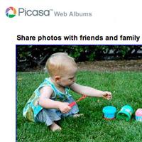 picasa-web albums