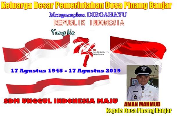 Pemerintahan Desa Pinang Banjar