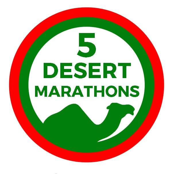 5 DESERT MARATHONS