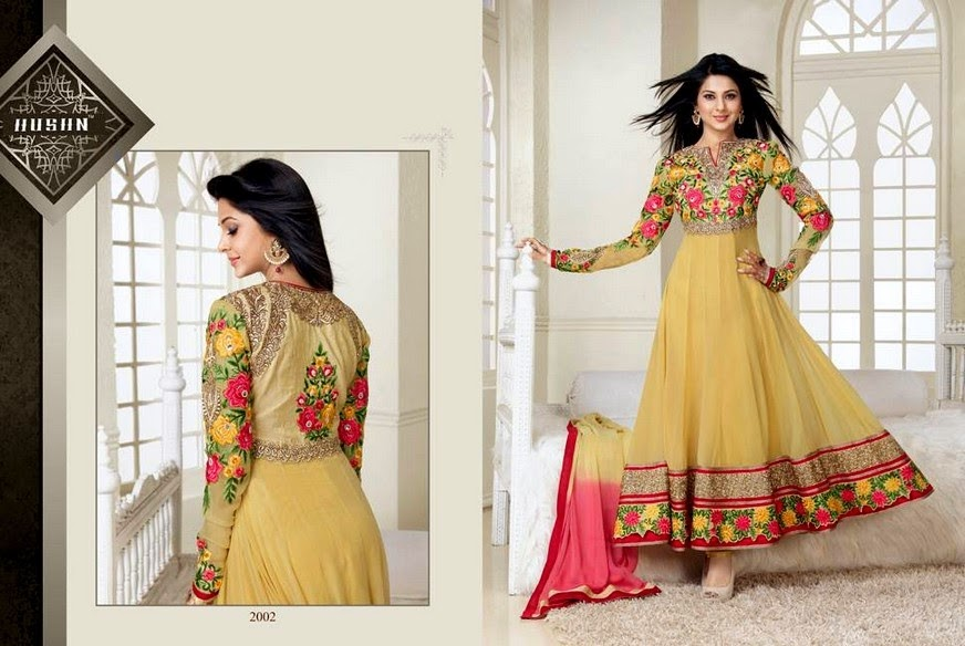 Latest Anarkali Long Frocks for Girls