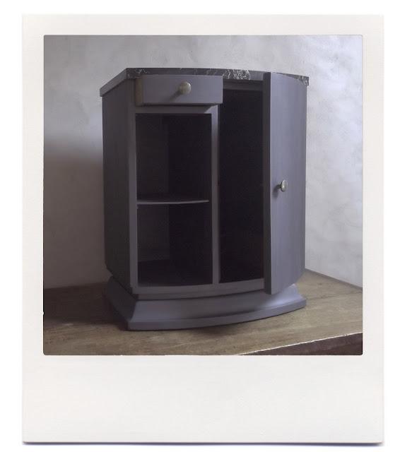 Le bricolarium petit meuble gris m tallis for Petit meuble metal