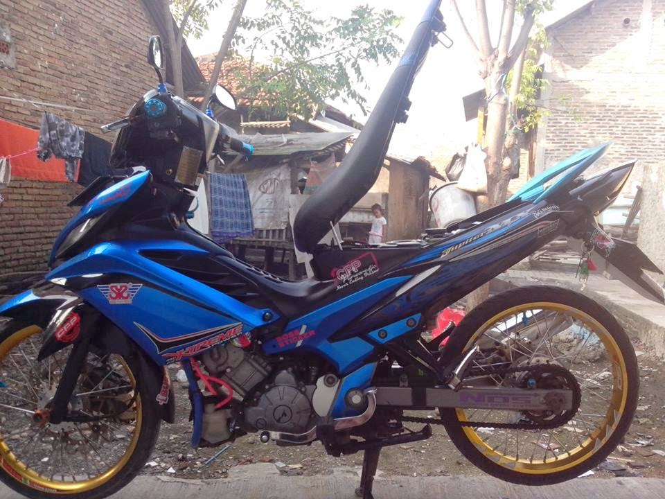 modifikasi motor new jupiter mx