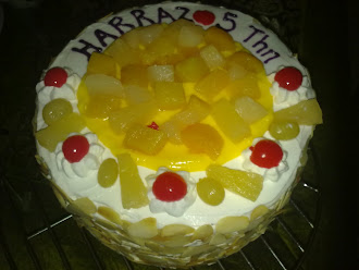 Birthday Harraz 5 Tahun