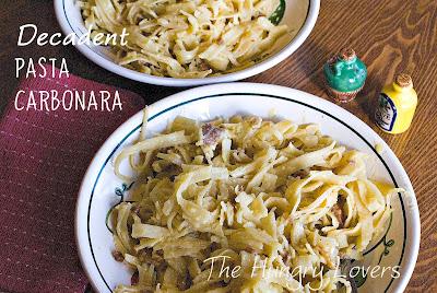 Decadent Pasta Carbonara