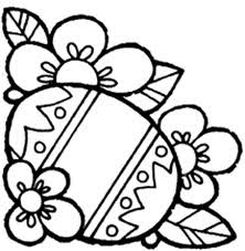 flower coloring pages, easter coloring pages